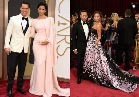 Matthew McConaughey and Camila Alves - Christine Teigen and John Legend