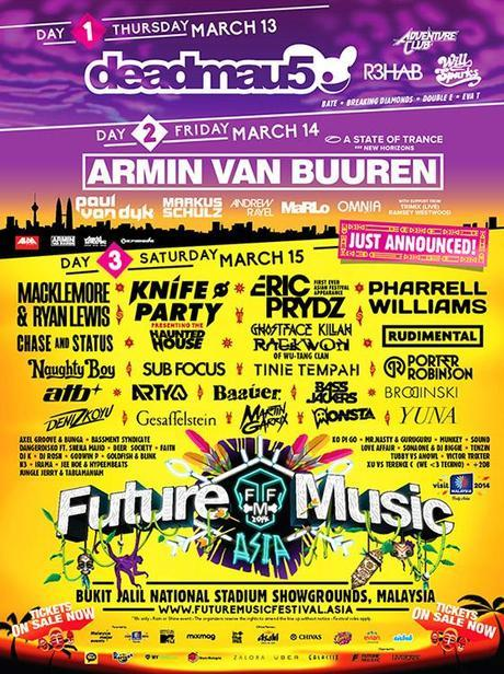 Future Music Festival Asia 2014: Get Ready for the Jungle
