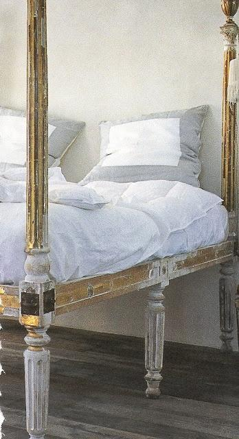 gilded-french-bed