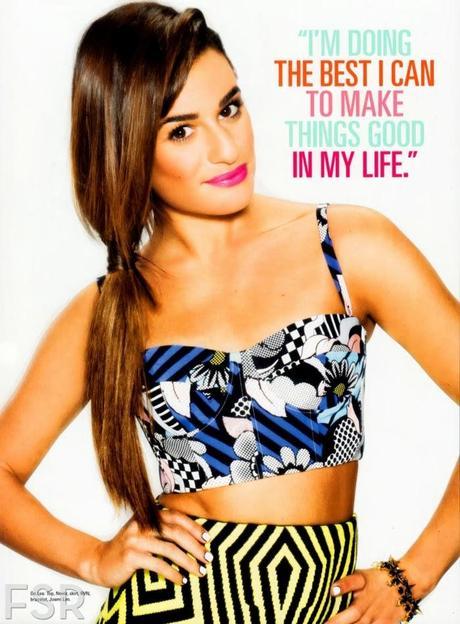 Lea Michele - Seventeen Magazine April 2014