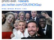 Ellen DeGeneres Oscar Selfie Record Twitter