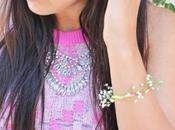 Make Floral Friendship Bracelet