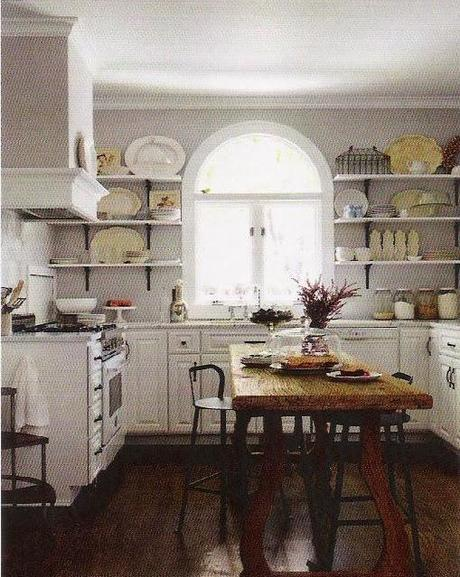Kitchen Inspiration! Open up those shelves