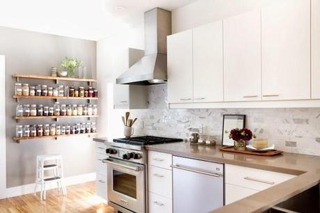 Kitchen Inspiration! Open up those shelves