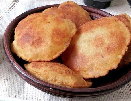 Rajgiri Ki Poori With Jeera Aloo- Fasting Recipe