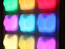 Butt-Shaped Lamp Lights When 'Slap