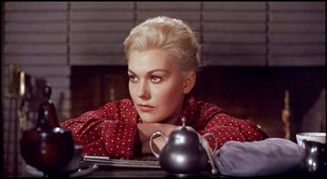 kim novak's face