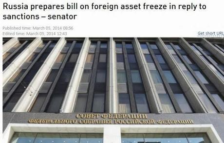 Russia To Propose Freezing US Assets And Confiscate Foreign Owned Property!!!!