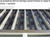 Russia Propose Freezing Assets Confiscate Foreign Owned Property!!!!