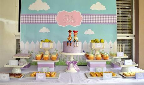 Super cute Toy Story themed birthday party by Style My Celebration