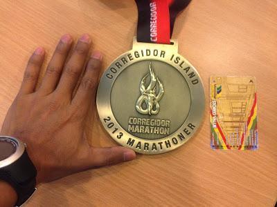 Corregidor Marathon 2013 Race Pack