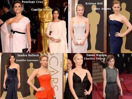 Best Celebrities Dresses at Oscars 2014