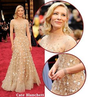 Cate Blanchett at the 2014 Oscars