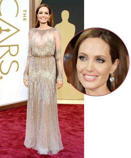Angelina Jolie's 42 carat flawless diamond earrings