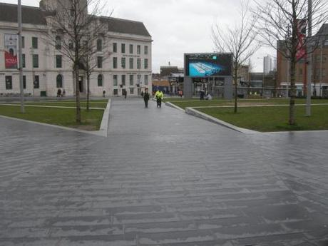 General Gordon Square, Woolwich - Diagonal Footpath Across the Square