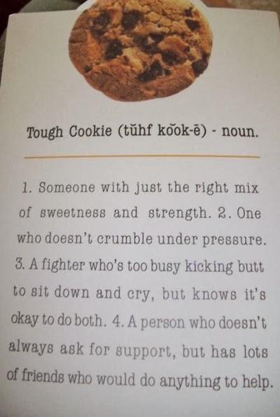 A tough cookie