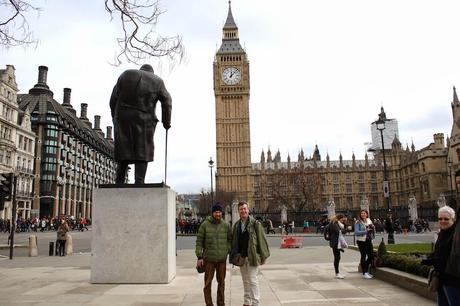 Suspicious Characters Loitering Outside Parliament! Call The Cops!
