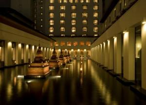 Sukhothai Hotel Chedi Fountain, Top 10 boutique hotels in bangkok thailand