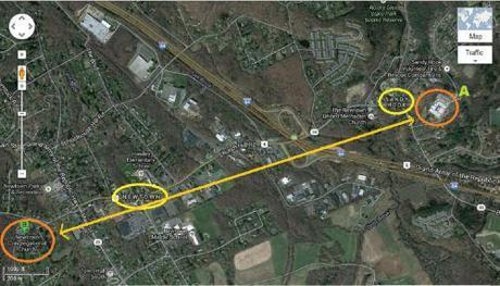 Google map Newtown SH