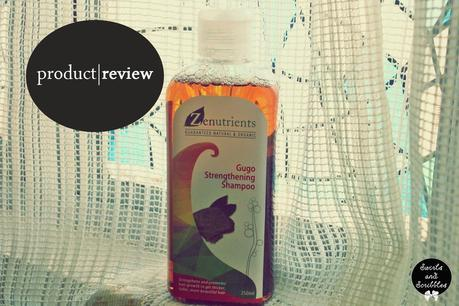 Product Review: Zenutrients Gugo Strengthening Shampoo