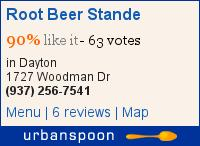 Root Beer Stande on Urbanspoon