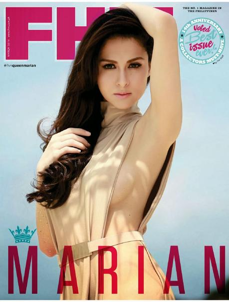 Marian rivera fhm cover apologise, but