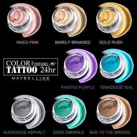 Maybelline color tattoo 24hr cream gel eyeshadow now for Maybelline color tattoo gel eyeshadow