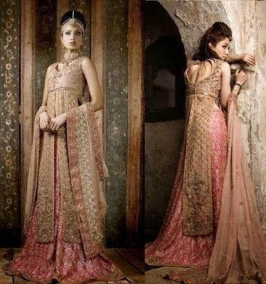 Latest Trend of Bridal Dresses 2012 in Pakistan