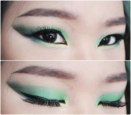 Spring 2014: St. Patty's Day Makeup Look