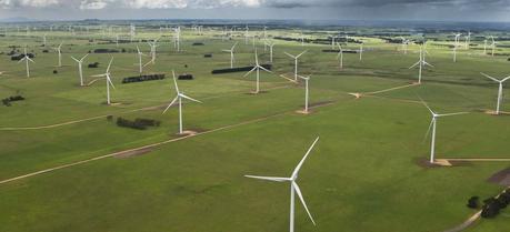 Vestas V112-3.0 MW turbines in Macarthur, Australia
