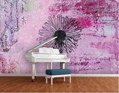 Photo Wall Mural - adhesive Writing You ..!