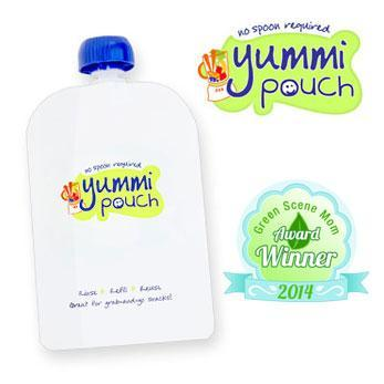 Yummi Pouch Minis Green Scene Mom Award Winner