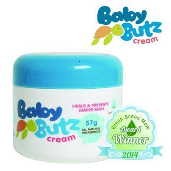 Baby Butz Cream Green Scene Mom Award Winner
