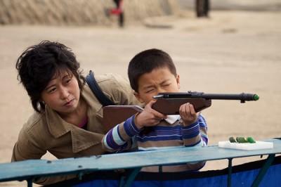 Shooting range in Pyongyang (Photo Credit: American in North Korea).