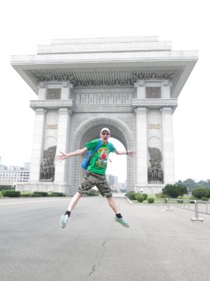 arc de triumph pyongyang jonny blair