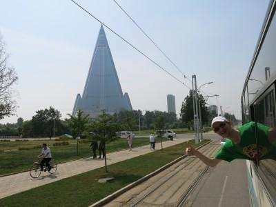 bus tourist pyongyang