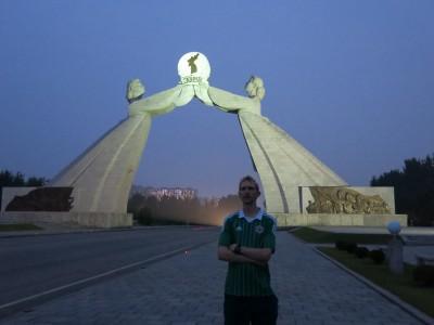 korea north charters monument