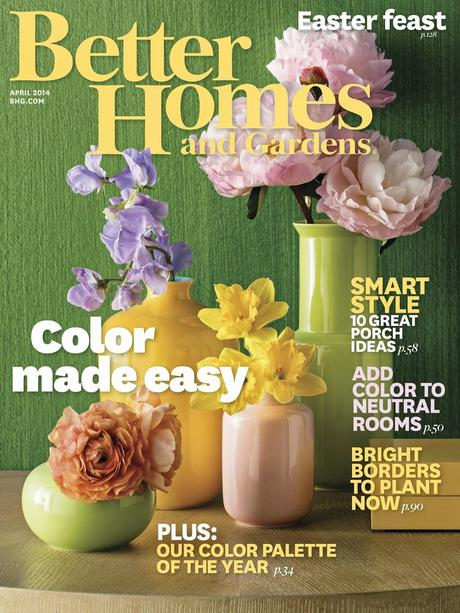 Latest edition of bhg color palette of the year paperblog March better homes and gardens