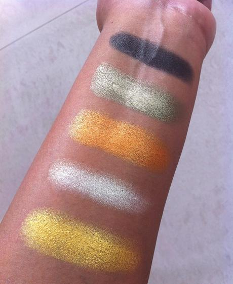 Danni 15 Colors Makhmali Eyeshadow Palette from Bornpretty Store - Review, Swatches