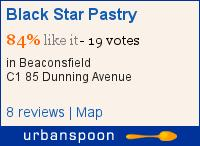 Black Star Pastry on Urbanspoon