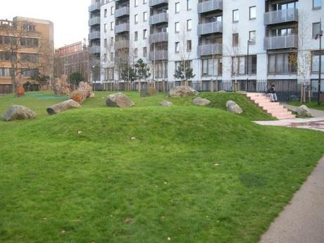 Altab Ali Park, Whitechapel - Natural Play Area