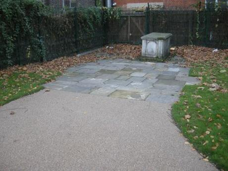 Altab Ali Park, Whitechapel - Retained Tomb