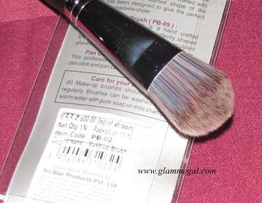 VEGA FOUNDATION BRUSH REVIEW
