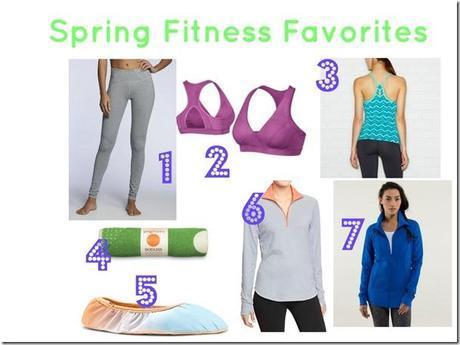 Spring Fitness Favorites