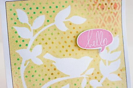 a fun spring card & FREE instruction downloads!