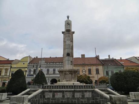 Architecture in Presov, Eastern Slovakia