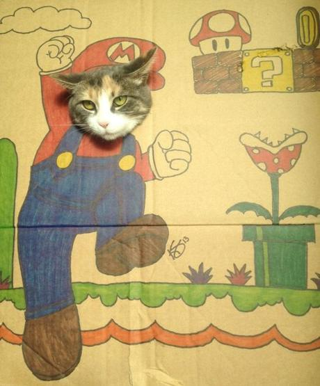 The World's Top 10 Best Images of Cardboard cat art