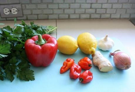 Ingredients vegetables
