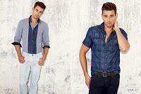 Not Necessarily Thinking Of The Season You're In:  Guess Mens Spring 2014 Preview