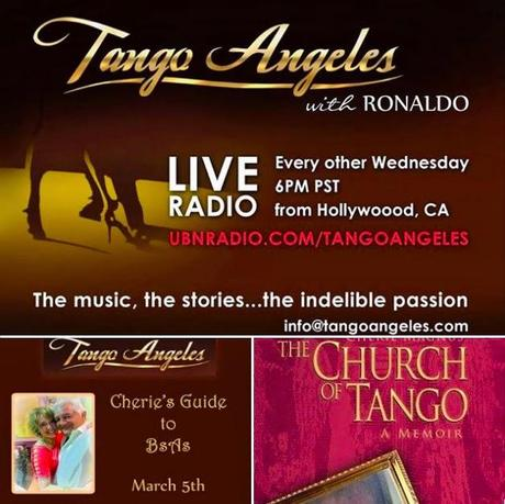 Tango Angeles: Tangocherie's Interview on the First English-Language Tango Radio Program!